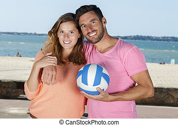 couple doing sports lifestyle outdoors