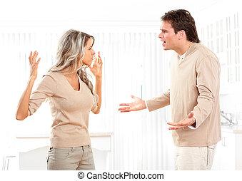 couple, fâché