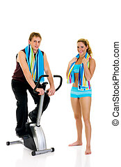couple, fitness