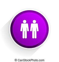 couple flat icon