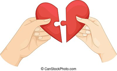 Couple Hands Heart Whole