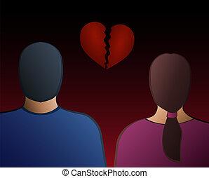 Couple Heartbreak