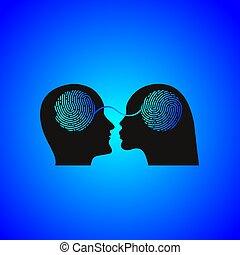 Couple icon, relationship