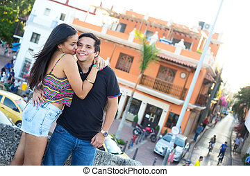 couple in Cartagena