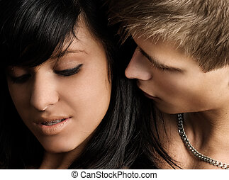 Couple in Love - Young couple in love