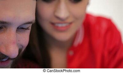 couple, jeune, émotions