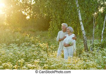 couple, mûrir, aimer
