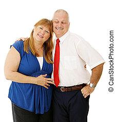 couple, mûrir, ensemble
