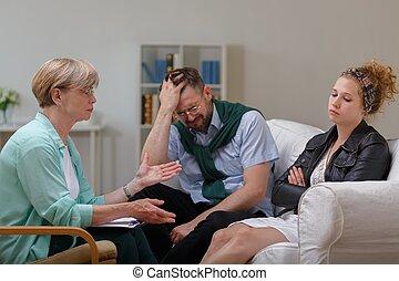 couple, mariés, séparation