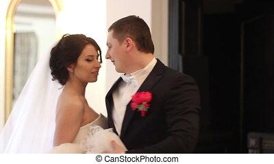 couple, mariage, danse