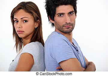 couple, mauvaise humeur