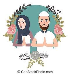 couple muslem islam greetings ramadhan ied as for...