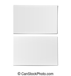 Couple of business card template.