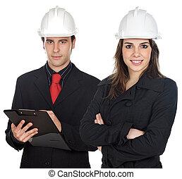 Couple of engineers