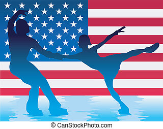 couple of figure skaters