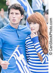 Couple of Greek