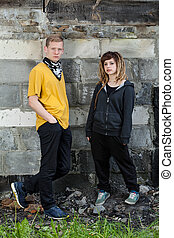 Couple of hooligans