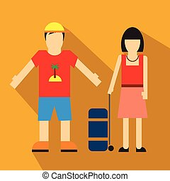 Couple of tourist