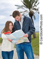 Couple of tourists