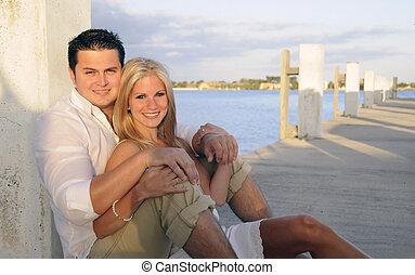 Couple on Dock 1