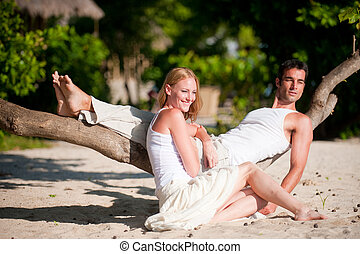 Couple On Vacation
