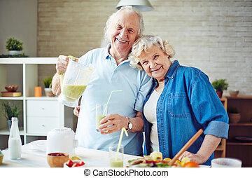 couple, retiré