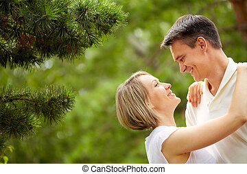 couple, romantique