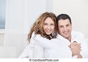 couple, séduisant