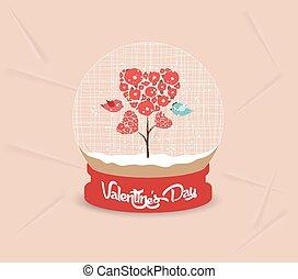couple, saint-valentin, heureux