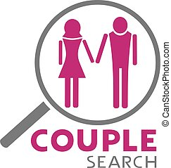 couple search icon