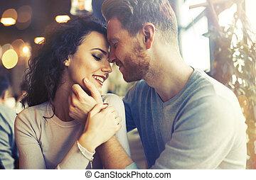 couple, sentimental, amour, liaison