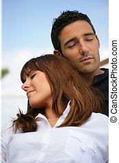 couple, somnolent