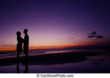 Couple Standing
