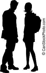 Couple - Students