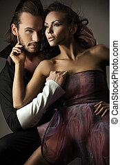couple, style, mignon, vogue, photo