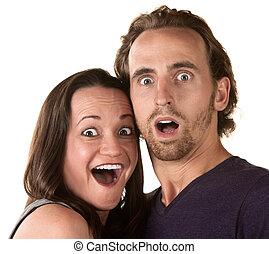 couple, surpris