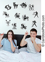 couple surrounded showing up at horoscope zodiac 12 signs