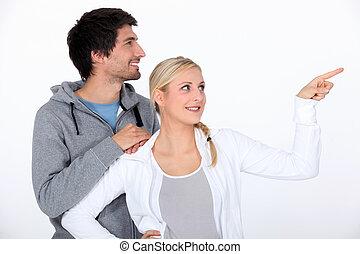 couple, survêtement