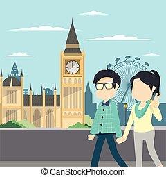 couple tour london