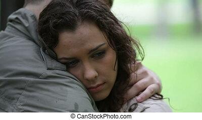 couple, triste