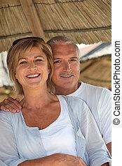 couple, vacances