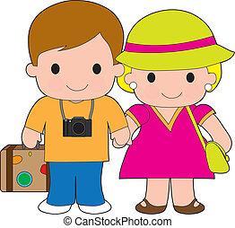 couple, voyage