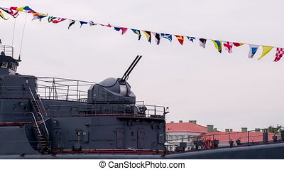 Coupled Naval Artillery Unit - Ship's rate of gun against a...
