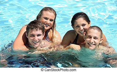 couples, в, , бассейн