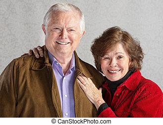 couples aînés, aimer