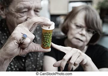 couples aînés, chez soi, à, prescription