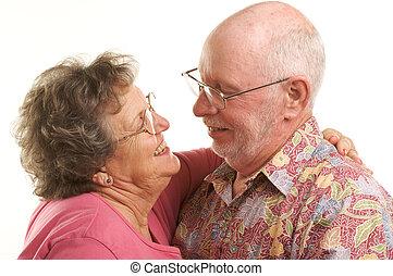 couples aînés, danse