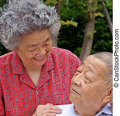 couples aînés, intime