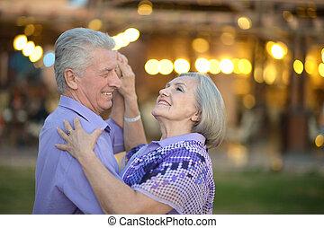 couples aînés, vacances