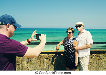 couples aînés, voyager